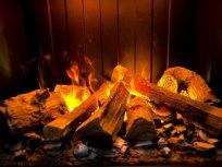 Brookline с эффектом живого огня