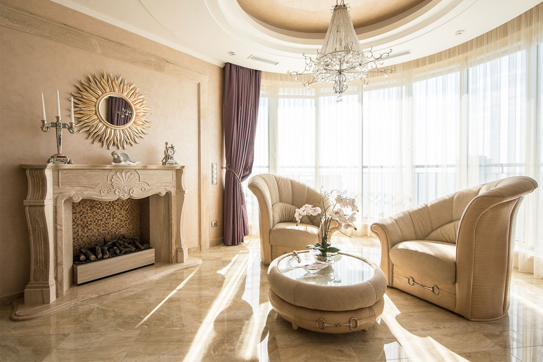 гостиной в классическом стиле с камином фото договор заношу